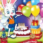 ¡Feliz Cumpleaños No. 7, Conejito Hans!