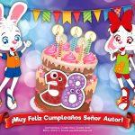 ¡Feliz Cumpleaños 38, Señor Autor!