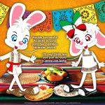 Hans y Greta Disfrutando la Cena Mexicana
